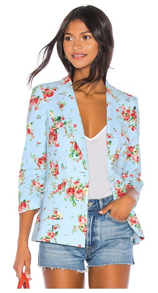 LIKELY amelia blazer in floral multi - LIKELY Amelia Blazer in Baby Blue. - size XS (also in...
