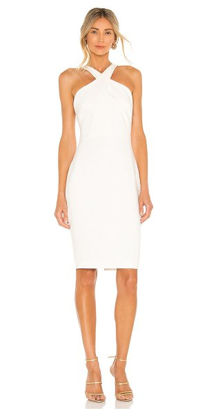 LIKELY carolyn dress in white