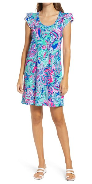 Lilly Pulitzer lilly pulitzer bridgitte a-line dress in multi living the dream