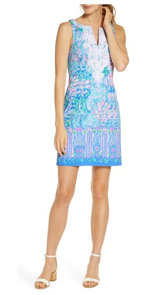 Lilly Pulitzer lilly pulitzer gabby sleeveless stretch dress in multi in full blm eng drs