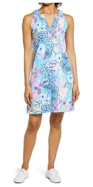 Lilly Pulitzer lilly pulitzer ross print shift dress in bali blue once upon a tide