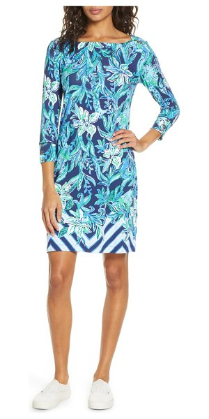 Lilly Pulitzer lilly pulitzer sophie shift dress in hi tide nvy take it or leaf it