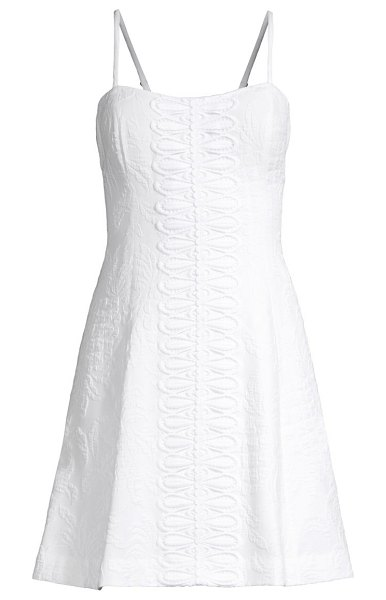 Lilly Pulitzer perry stretch dress in resort white