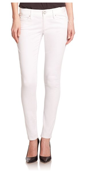 Lilly Pulitzer worth low-rise skinny jeans in resort white