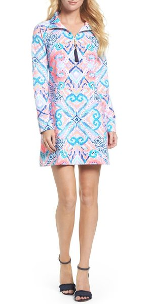 LILLY PULITZER lilly pulitzer skipper upf 50+ dress - Start your day off in style in this stand-collar dress...