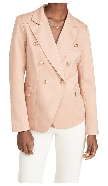 Lioness the palermo blazer in taupe
