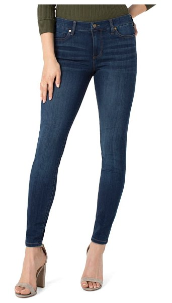 Liverpool abby skinny jeans in san andreas dark