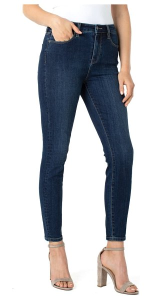 LIVERPOOL LOS ANGELES abby sustainable high waist ankle skinny jeans in essential