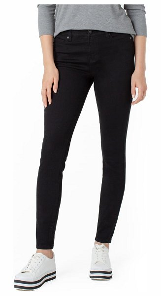 LIVERPOOL LOS ANGELES abby sustainable skinny jeans in black rinse