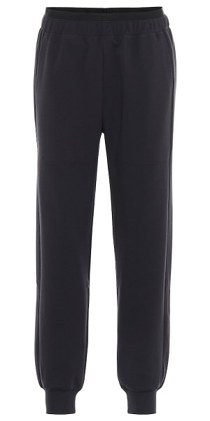 LNDR saturn technical-jersey trackpants in black