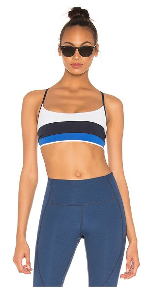 LNDR Shift Sports Bra in blue
