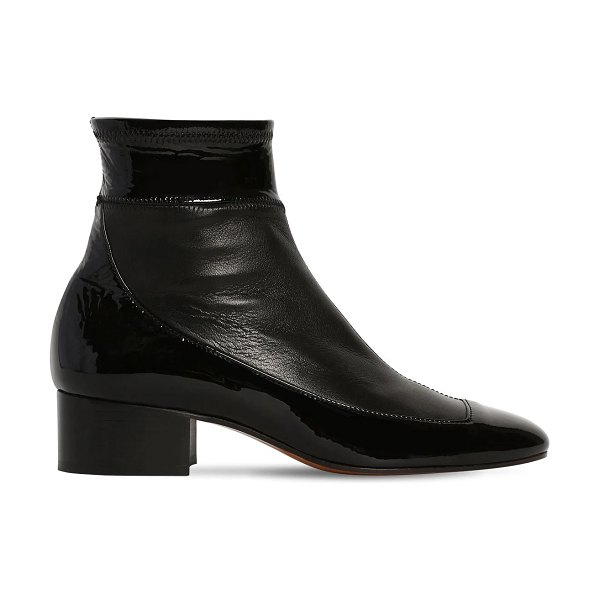 Loewe 40mm stretch leather ankle boots in black