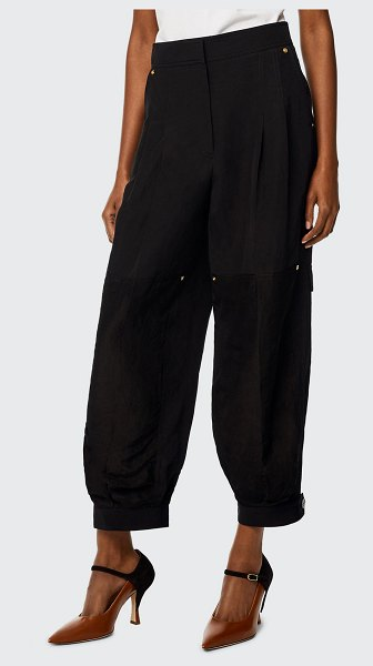 Loewe Cropped Balloon Trousers in black