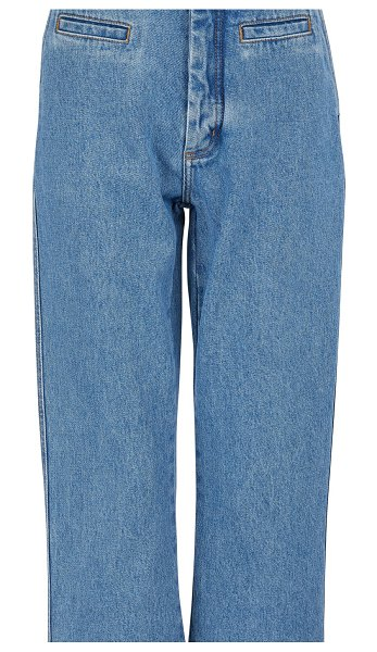 Loewe Fisherman trousers in blue denim