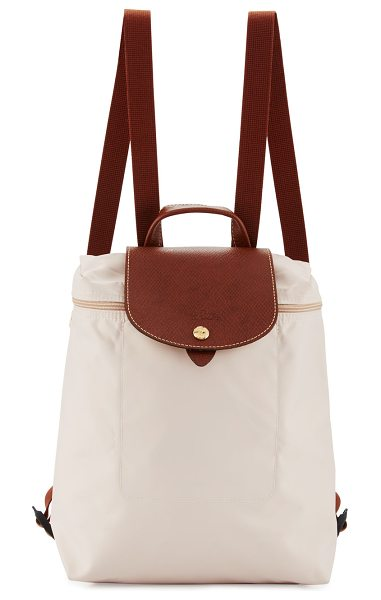 Longchamp Le Pliage Nylon Backpack in khaki