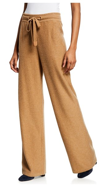 Loro Piana Barnsely Cashmere Pants in amber