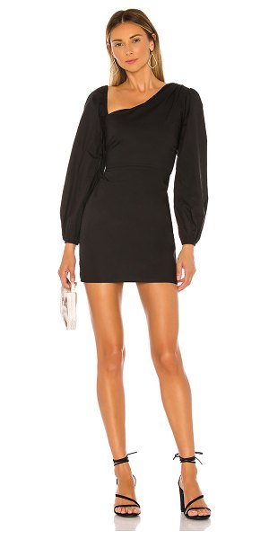 Lovers + Friends andy mini dress in black