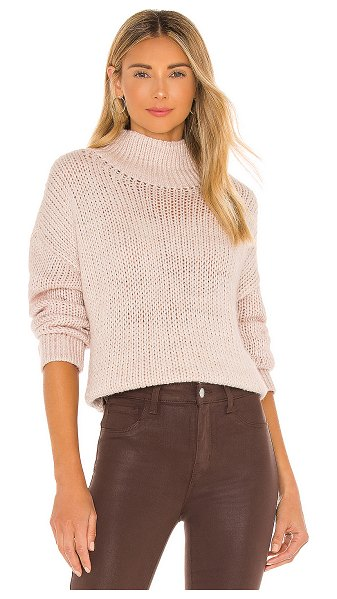 Lovers + Friends cecilia oversized sweater in sand