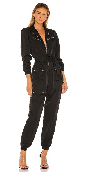 Lovers + Friends curtis jumpsuit in black