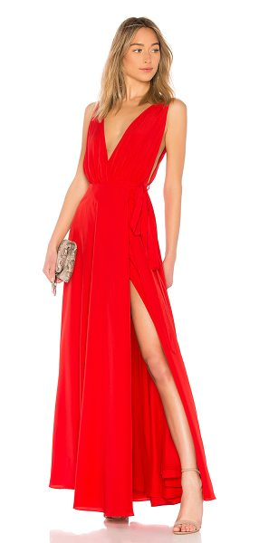 Lovers Friends Leah Gown In Red Shopstasy