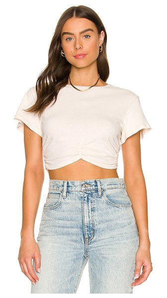 Lovers + Friends marissa top in ivory sand