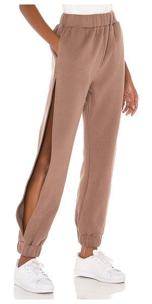 Lovers + Friends tristan jogger in taupe