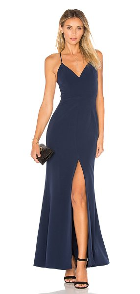 Lovers Friends Helena Gown In Blue Shopstasy