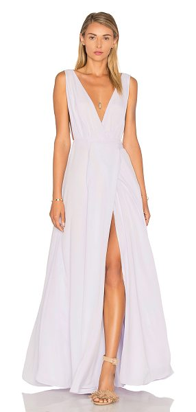 Lovers + Friends leah gown in lavender