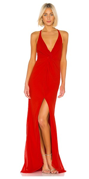 Lovers + Friends xael gown in red