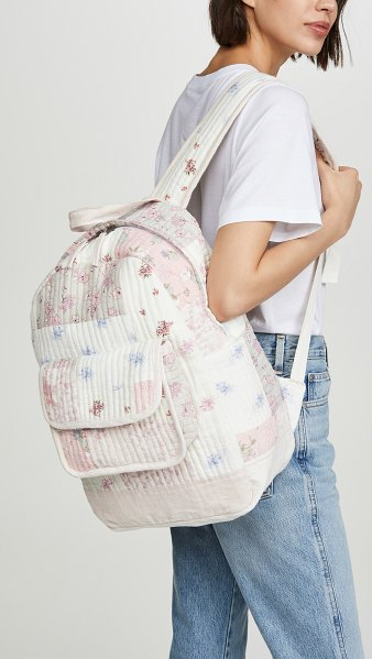 LOVESHACKFANCY darla backpack in multi