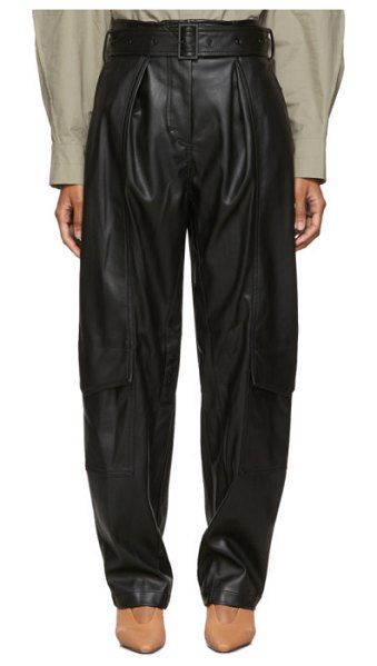 LOW CLASSIC black down pocket trousers in blk black