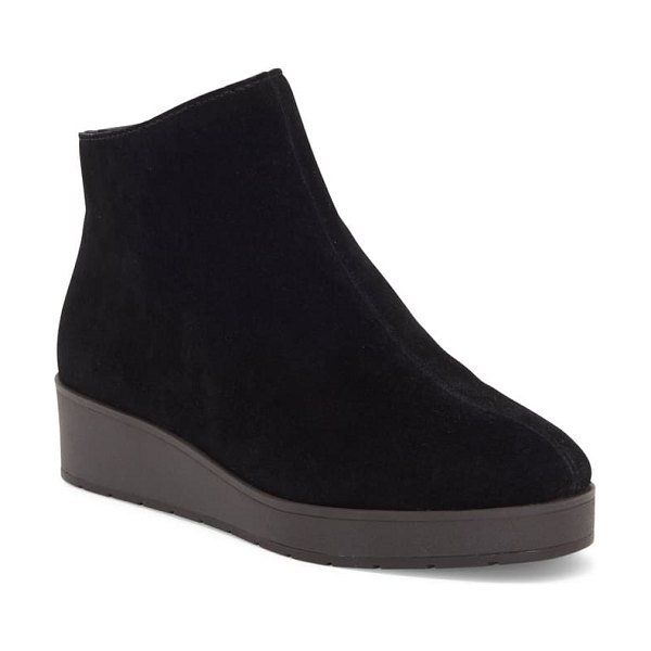 Lucky Brand karmeya bootie in black leather