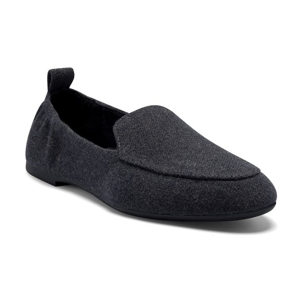 Lucky Brand mayira faux fur lined loafer in natural