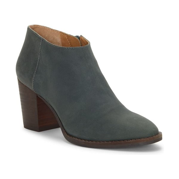 Lucky Brand pamira bootie in kelp leather