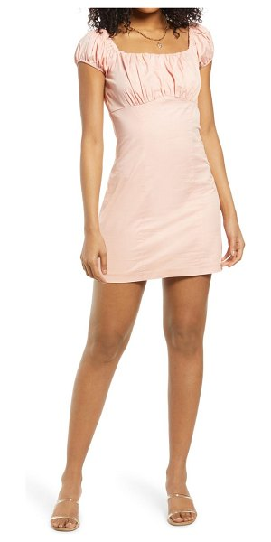 Lulus whatever you like minidress in light pink