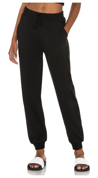 L'urv treasure track pant in black