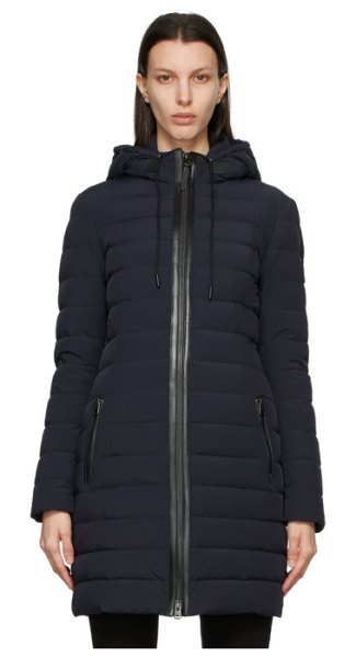 Mackage ssense exclusive  down calna coat in navy