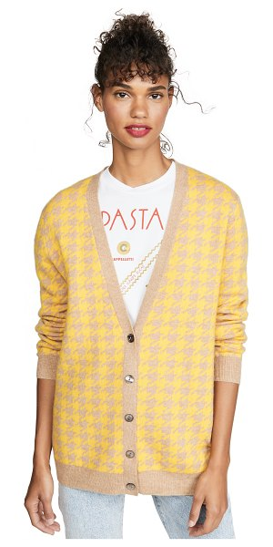 Madeleine Thompson coco sweater in yellow/camel