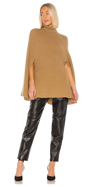 Madeleine Thompson merryweather poncho in camel