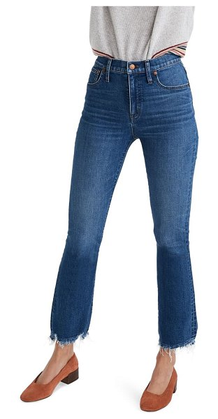 Madewell cali demi-boot jeans: comfort stretch edition in columbus wash