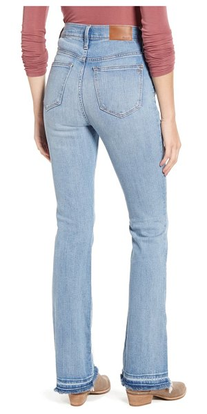 Madewell high waist skinny flare jeans in martie wash
