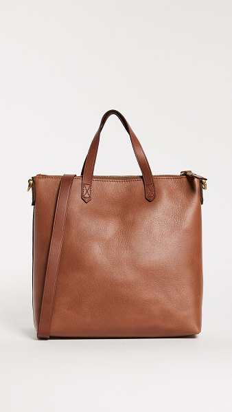 Madewell the transport crossbody bag in english saddle