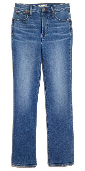 Madewell slim demi-boot jeans in northaven