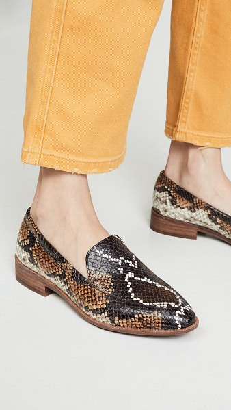 Madewell the frances loafers in warm ash multi