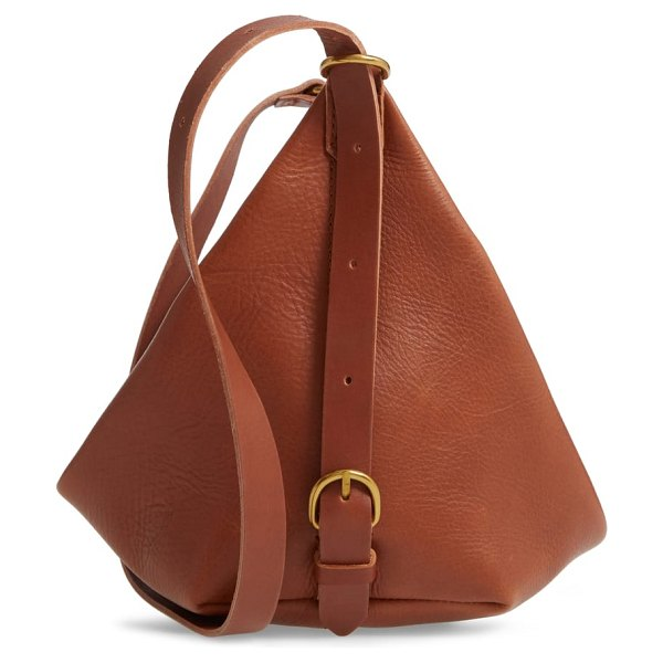 Madewell the leather sling bag in brown/ english saddle - Made of rich leather, this two-in-one bag was inspired...