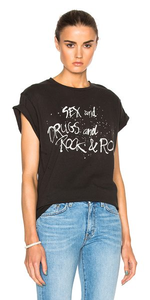 Madeworn Sex & Drugs Tee in black - With their vintage-inspired designs that hold an edge,...