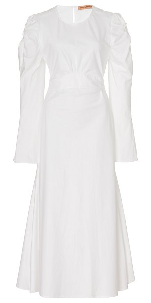 Maggie Marilyn feel the breeze cotton maxi dress in white