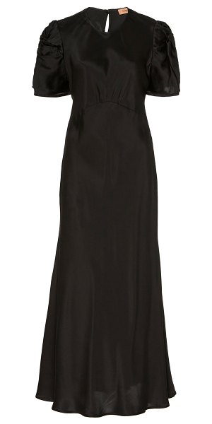 Maggie Marilyn its up to you silk maxi dress in black