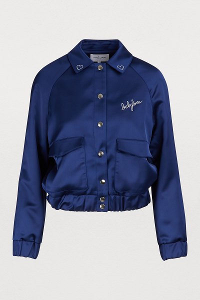Maison Labiche Babylove jacket in navy - Maison Labiche's Babylove jacket embodies the...