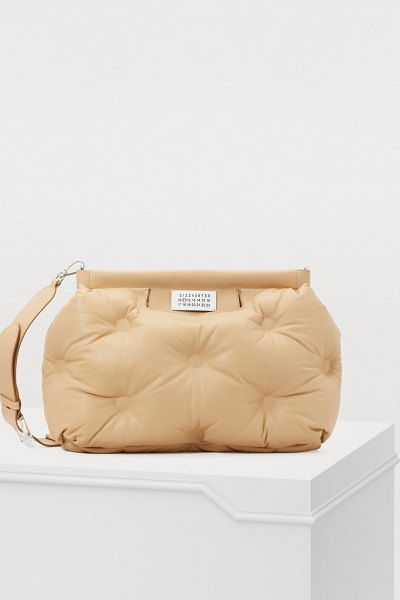 Maison Margiela Glam Slam shoulder bag in sheepskin